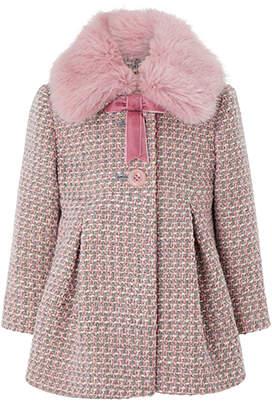 Monsoon Baby Phoebe Tweed Coat