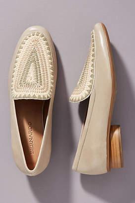 Bernardo Jace Embroidered Loafers