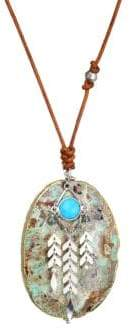 Chan Luu Turquoise Mix Stone Necklace