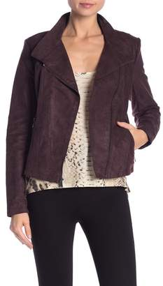 Andrew Marc Anatyla Faux Suede Jacket