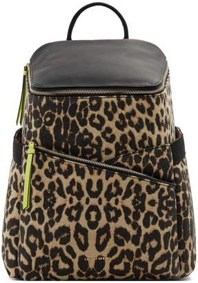 Call it SPRING Studyhall Leopard Print Backpack