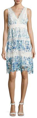 Elie Tahari Malina Crocheted Lace Dress