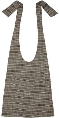 Raf Simons Black and White Small Coat Bag