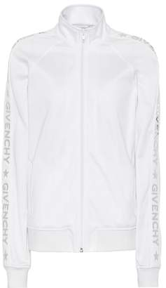 Givenchy Appliquéd jersey jacket