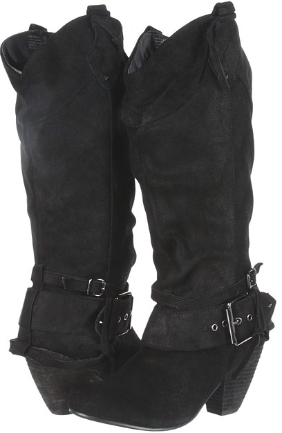 Naughty Monkey Cowboys and Indians (Black) - Footwear