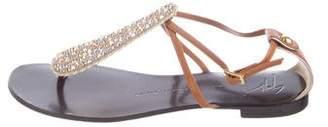 Giuseppe Zanotti Studded Thong Sandals
