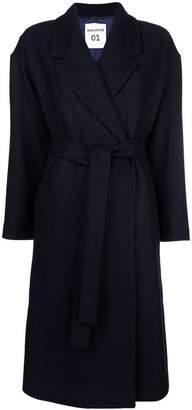Semi-Couture Semicouture belted oversize coat