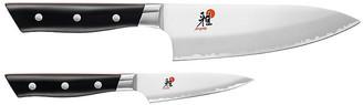 Evolution 2-Pc Knife Set - Silver/Black - Miyabi