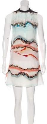 AllSaints Silk Mini Dress