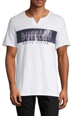 Buffalo David Bitton Nadzim Logo Cotton Tee