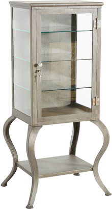 Rejuvenation Metal Medical Cabinet with Cabriolet Legs