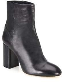 Rag & Bone Agnes Leather Block Heel Booties