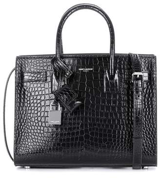 Saint Laurent Sac De Jour Baby embossed leather tote