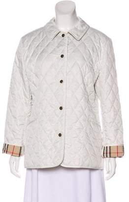 Burberry Quilted Casual Jacket