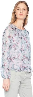 Glamorous Women's Printed Chiffon Top