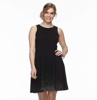 Apt. 9 Petite Jacquard Sleeveless Dress