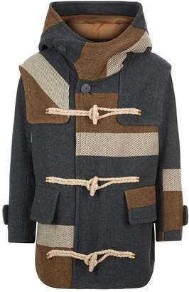 Kolor Colour Block Duffle Coat