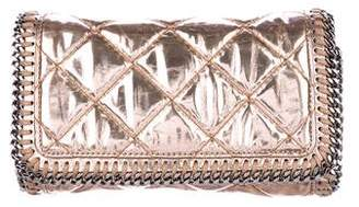 Stella McCartney Quilted Vegan Leather Falabella Clutch