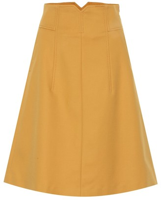 Schumacher Dorothee Bold Silhouette stretch-cotton skirt
