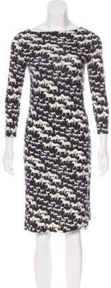 Tory Burch Wool Printed Dress
