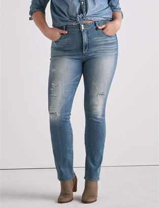 Lucky Brand Plus Size Emma Straight Leg Jean In Jackson