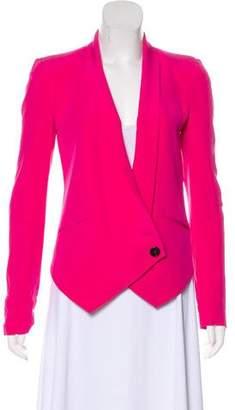 Rebecca Minkoff Silk Single-Breasted Blazer