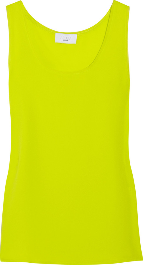 Adam Silk-georgette tank