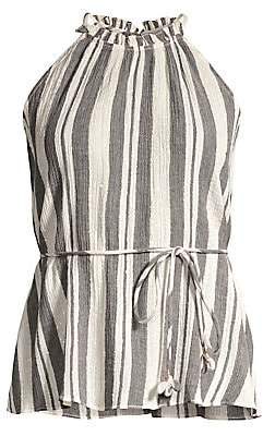 Joie Women's Larkyn Striped Halter Top