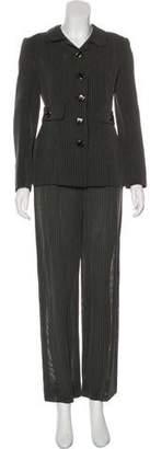 Valentino Patterned Wide-Leg Pantsuit