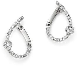 Bloomingdale's Diamond Front to Back Earrings in 14K White Gold, 0.20 ct. t.w. - 100% Exclusive