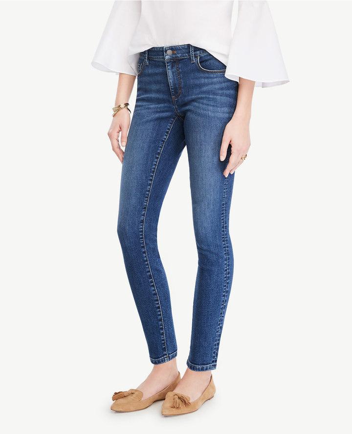 Ann TaylorPetite Curvy Skinny Ankle Jeans
