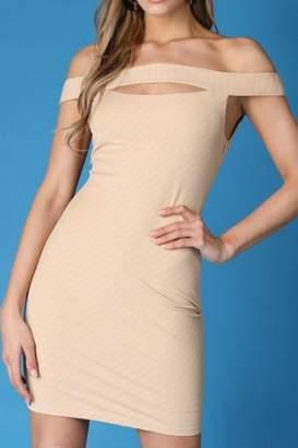 Nikibiki Nude Bandage Dress