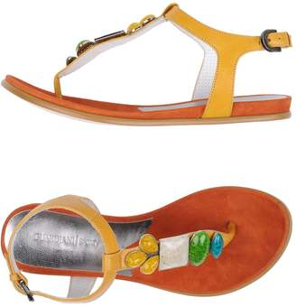 Alberto Guardiani Toe strap sandals - Item 11255580BF