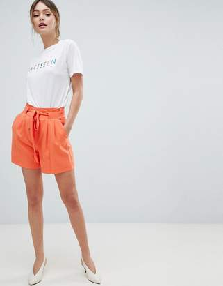 Oasis Belted Tailored Shorts