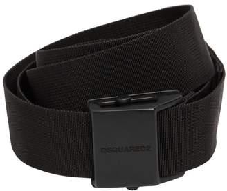 DSQUARED2 40mm Logo Webbing Belt