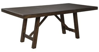 Gracie Oaks Chapdelaine Solid Wood Dining Table Gracie Oaks