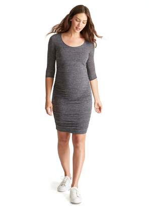 Ingrid & Isabel Women's Maternity Shirred Dress