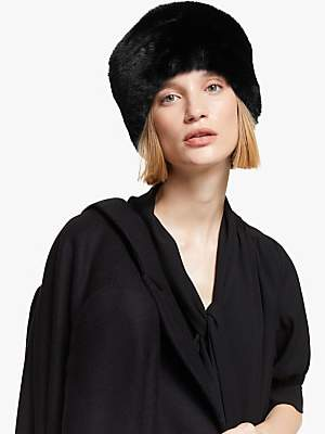 John Lewis & Partners Faux Fur Cossack Hat