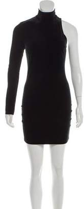 Pam & Gela One Shoulder Mini Dress w/ Tags