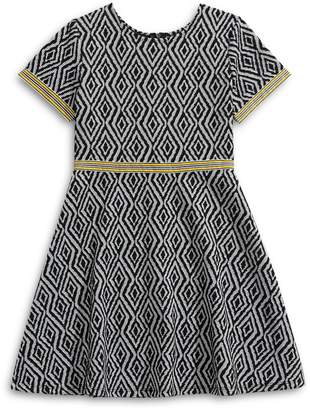 Princess Faith Girl's Printed A-Line Dress