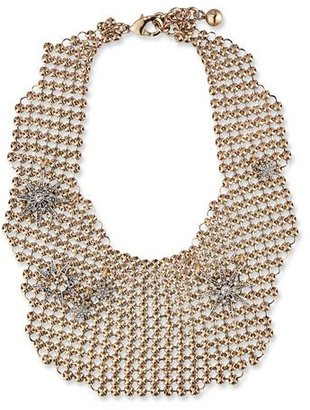 Lulu Frost Encore Radiant Mesh Necklace $450 thestylecure.com
