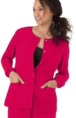 Jockey Women's Scrubs Classic Long Sleeve Jacket 2356