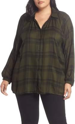Angie Fem Flannel Shirt