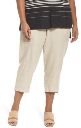 Eileen Fisher Linen Ankle Pants