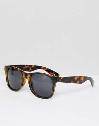 Vans Spicoli tortoise shell sunglasses in Brown VN000LC0PA91