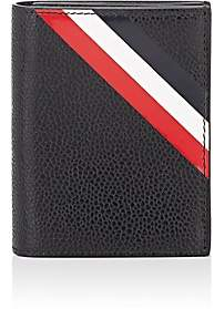 Thom Browne Men's Leather Card Case - Black
