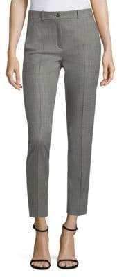 Michael Kors Samantha Cropped Wool Pants