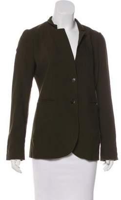 Gucci Wool Button-Up Blazer