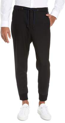 The Kooples Straight Leg Woven Jogger Pants