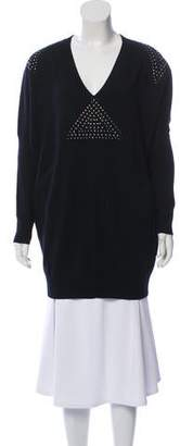 Faith Connexion Merino Wool Embellished Sweater
